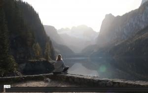 Mut Meditation im Sitzen
